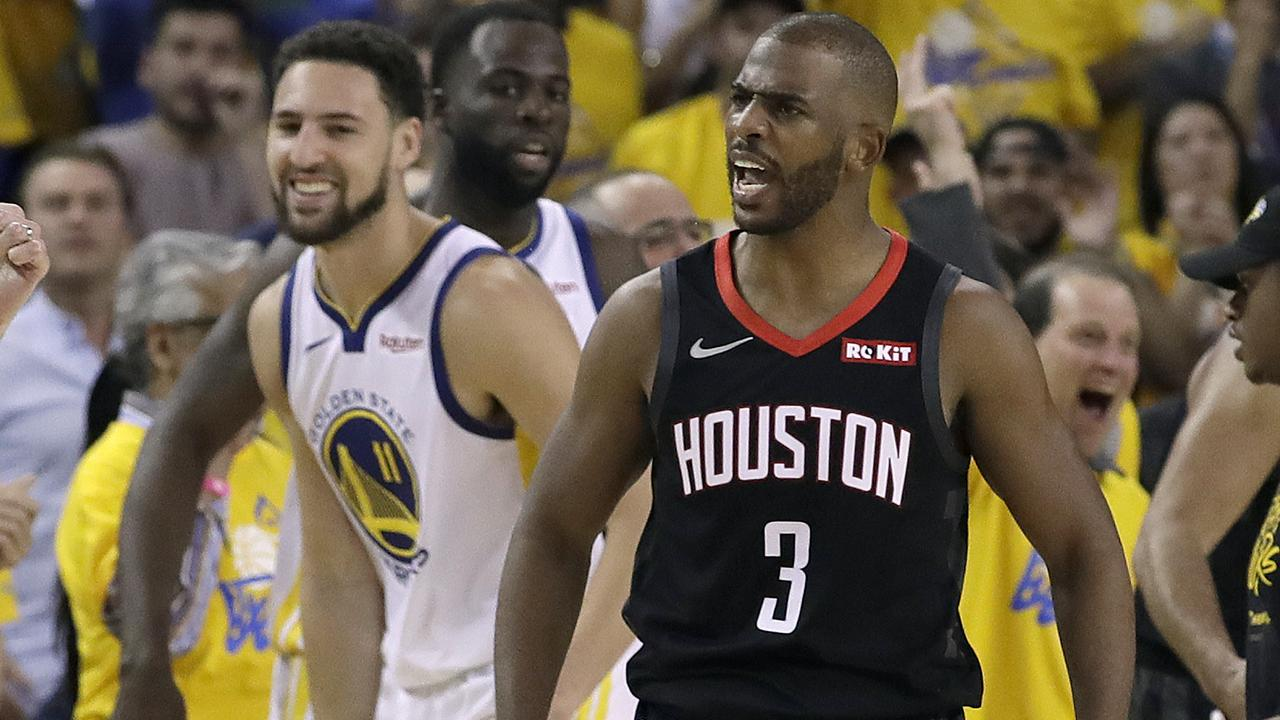 77433c2deba3 Chris Paul wasn t happy about being ejected in Game 1. Klay was all