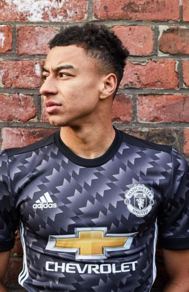 Manchester United's new away kit.