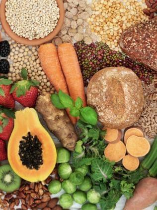 Fibre-rich foods. Image: iStock.