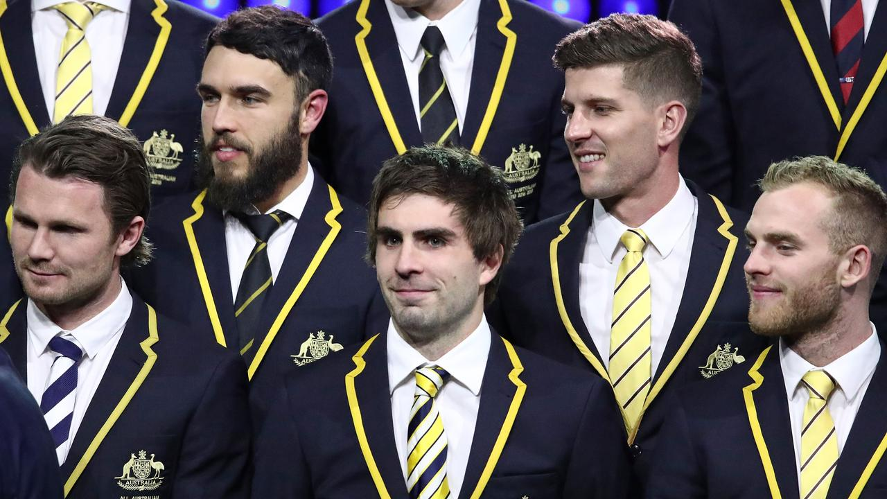 West Coast star Andrew Gaff became a two-time All-Australian this year.