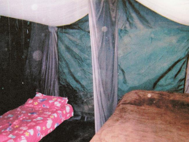 Brother and sister Martha and Charlie Colt slept openly in a marital bed in a tent on the filthy farm.