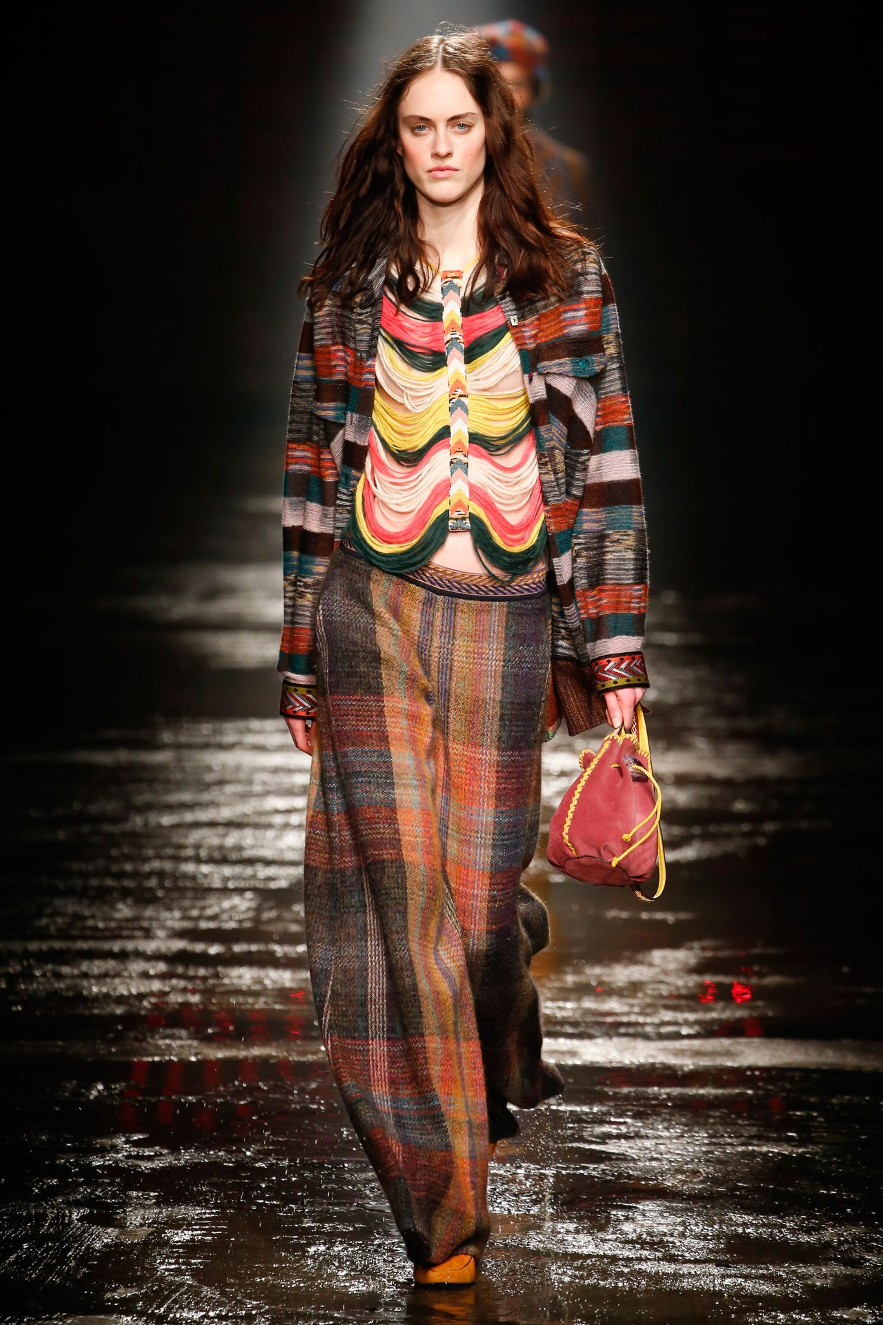 A look from Missoni's ready-to-wear autumn/winter '18/'19 collection. Image credit: Indigital