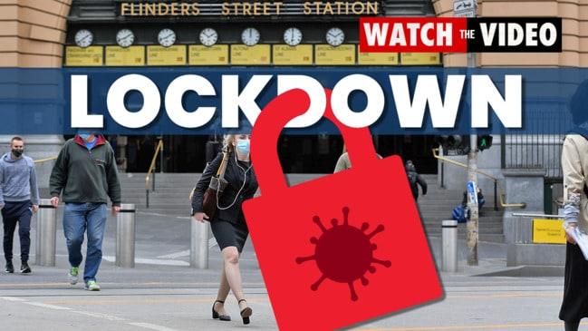 Victoria plunged into seven day 'circuit breaker' lockdown