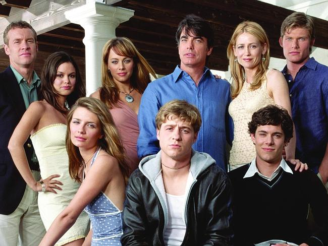 Tate Donovan (Jimmy Cooper), Rachel Bilson (Summer Roberts), Mischa Barton (Marissa Cooper), Melinda Clarke (Julie Cooper), Benjamin McKenzie (Ryan Atwood), Peter Gallagher (Sandy Cohen), Kelly Rowan (Kirsten Cohen), Adam Brody (Seth Cohen) and Chris Carmack (Luke Ward).