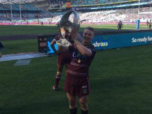 Manly NYC star Jesse Martin after the grand final.