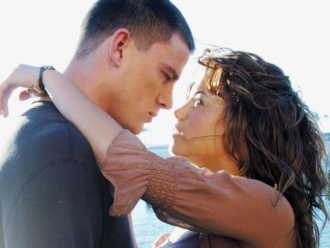 The story of how the sexy couple met just got sexier: Channing and Jenna in