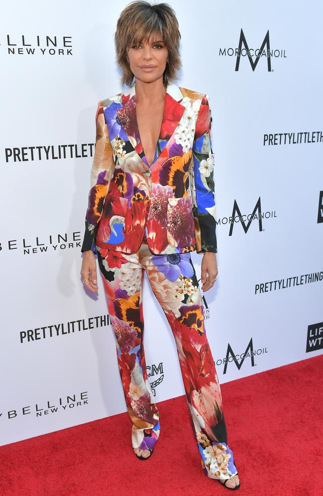 Actress Lisa Rinna's publicity team said they knew nothing of the event. Picture: Neilson Barnard/Getty Images