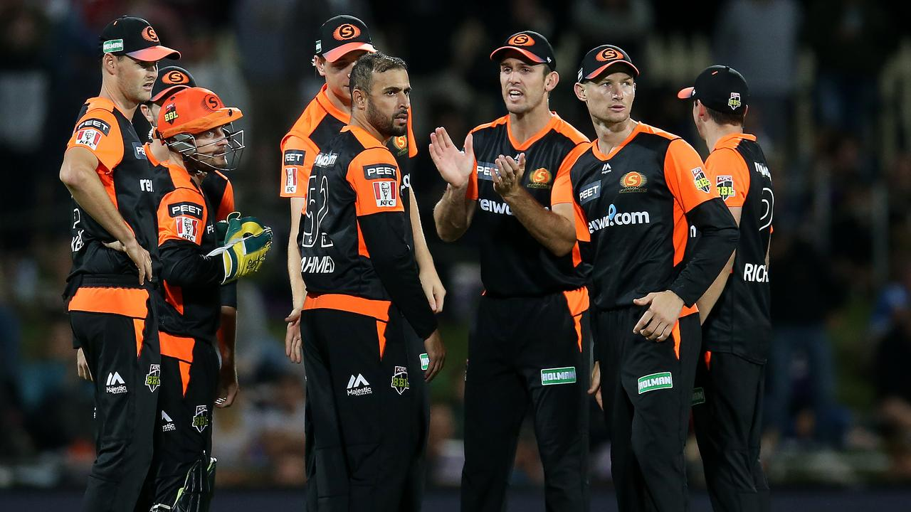 The Scorchers were travelling from Hobart to Perth after beating the Hurricanes.