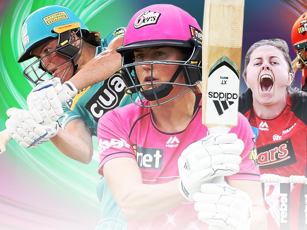 The Women's Big Bash League begins on Friday.