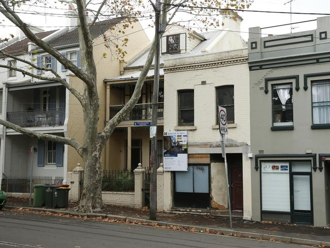This terrace in Surry Hills is listed for sale at $1.8m. Picture: David Swift
