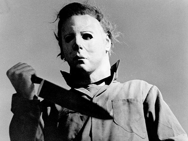 The mask was similar to that worn by Michael Myers, the killer in the Friday the 13th film series. Picture: Supplied