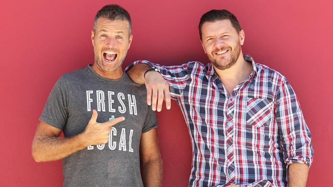 Pete Evans is a judge on Channel 7 show My Kitchen Rules, alongside Manu Feildel. Picture: Brett Costello