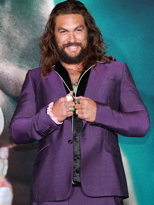 Jason Momoa at the Joker premiere.