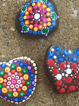 Some bright rocks. Picture: Wendy Gallacher