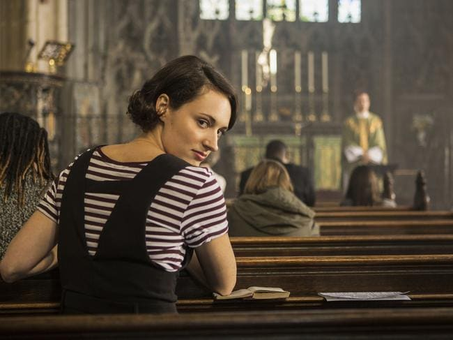 Fleabag's Phoebe Waller-Bridge continued her recent good run at awards shows. Picture: AP