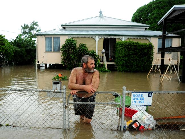 Mark Lovejoy at his home in Hermit Park, Townsville. Picture: Evan Morgan