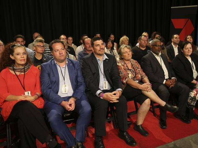 Eleven of 48 undecided voters in the audience said they were not won over by either leader after the debate. Picture: Nic Ellis /The West Australian