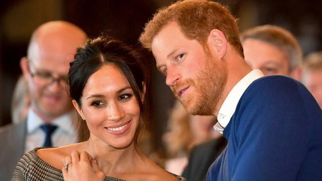 The couple have also launched lawsuits against UK outlets over articles published about Meghan. Picture: Ben Birchall – WPA Pool/Getty Images
