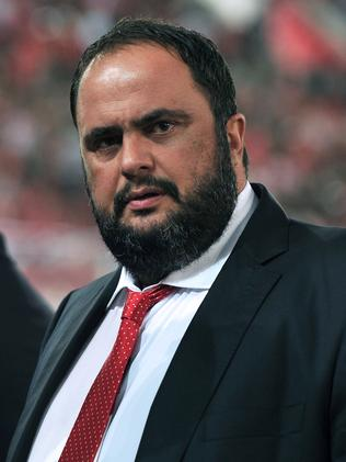 Evangelos Marinakis has been charged with drug trafficking