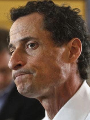 Anthony Weiner. Picture: AP