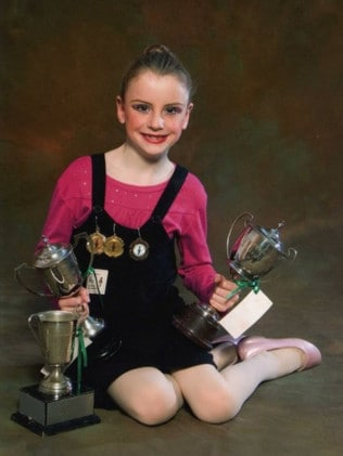 She won numerous awards for her dancing. Picture: Supplied