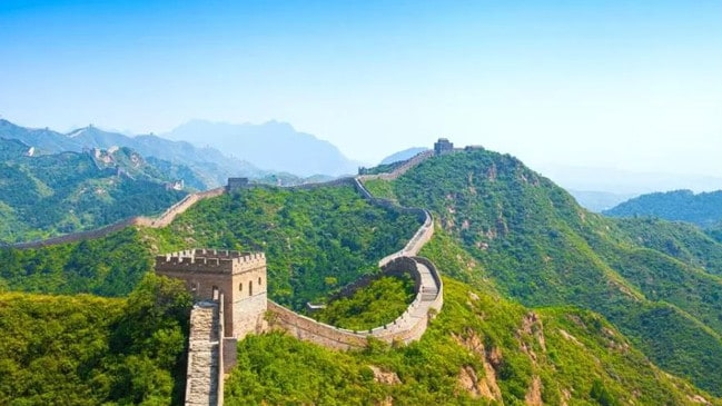 It's the Great Wall of China! Pictures: GoCompare