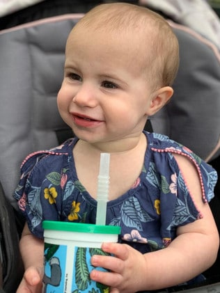 Chloe Wiegand was just 18 months old at the time of her death.