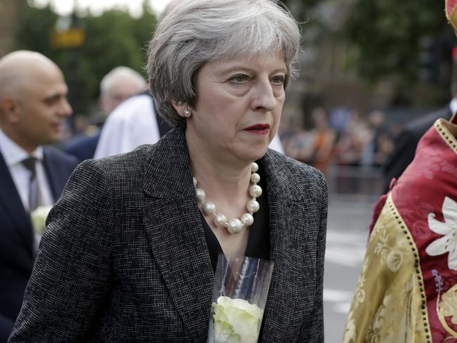British Prime Minister Theresa May faces an uncertain future.