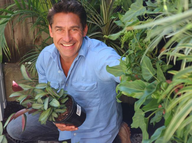 Jamie Durie during working on the reality show The Living Room for Hit.TV.