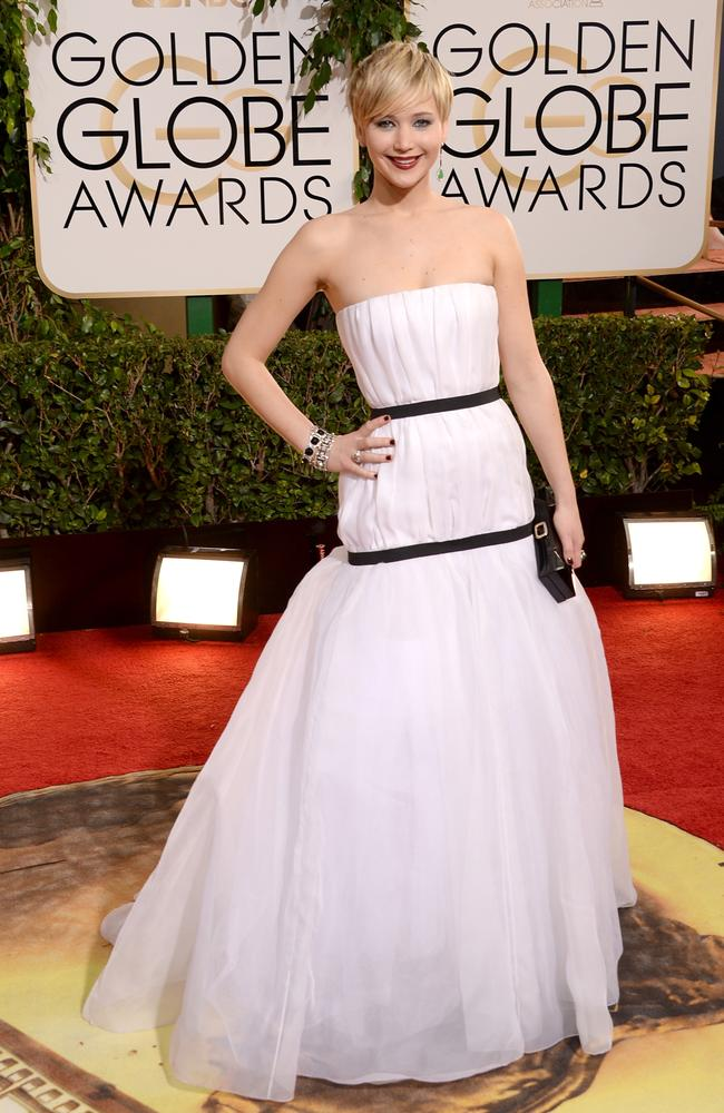 This Dior dress inspired many copycats after Jennifer Lawrence wore it in 2014.