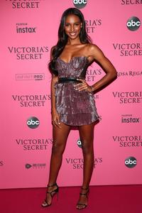 b509f92be6f Georgia Louise and Dr. Barbara Sturm attend the 2018 Victoria s Secret  Fashion Show After Party on November 8