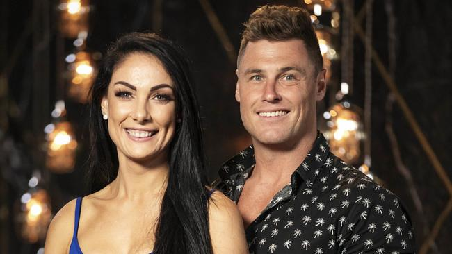 Vanessa was matched with Chris on MAFS. Picture: Channel 9