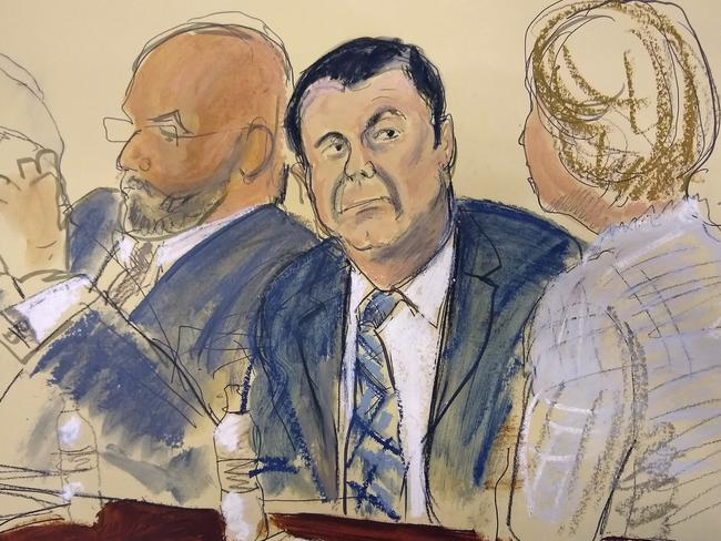 El Chapo, or 'Shorty', used secret codes to run his global narcotics empire, according to a former cartel member. Picture: Elizabeth Williams via AP
