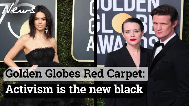 Golden Globes Red Carpet: Activism is the new black