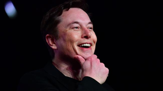 Mr Musk has been known to throw parties to recruit works in the past. Picture: Frederic J. Brown/AFP