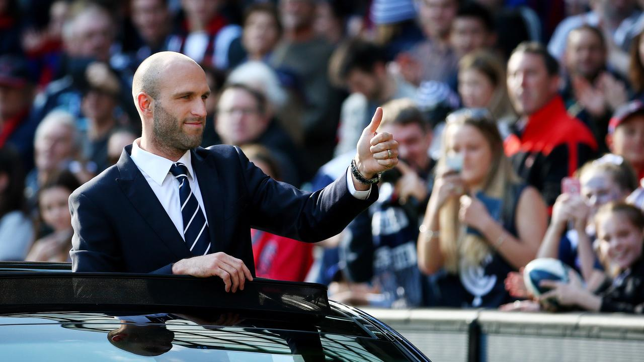 Chris Judd will head a panel to select Carlton's next AFLW coach. Picture: Colleen Petch.