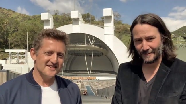 Keanu Reeves and Alex Winters announce Bill & Ted 3: Face the Music