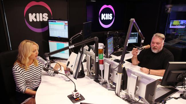 Kyle Sandilands and Jackie O are the number one FM breakfast show in Sydney.