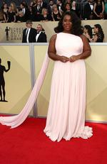 Actor Uzo Aduba attends the 24th Annual Screen Actors Guild Awards at The Shrine Auditorium on January 21, 2018 in Los Angeles, California. Picture: Frederick M. Brown/Getty Images