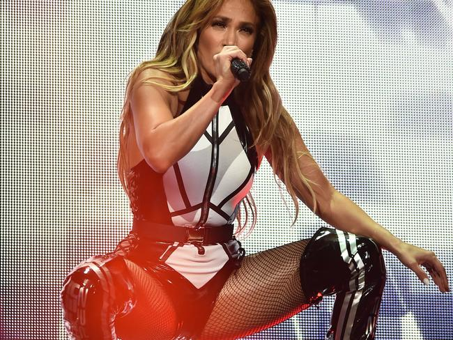 Jennifer Lopez performs onstage at the 2019 iHeartRadio Fiesta Latina. Picture: Theo Wargo/Getty Images