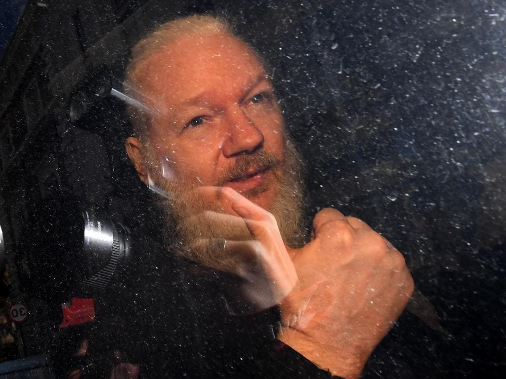 """Julian Assange will face the """"case of his life"""" on Monday over whether he will be extradited to the US. Picture: Victoria Jones/ PA Images via Getty Images."""