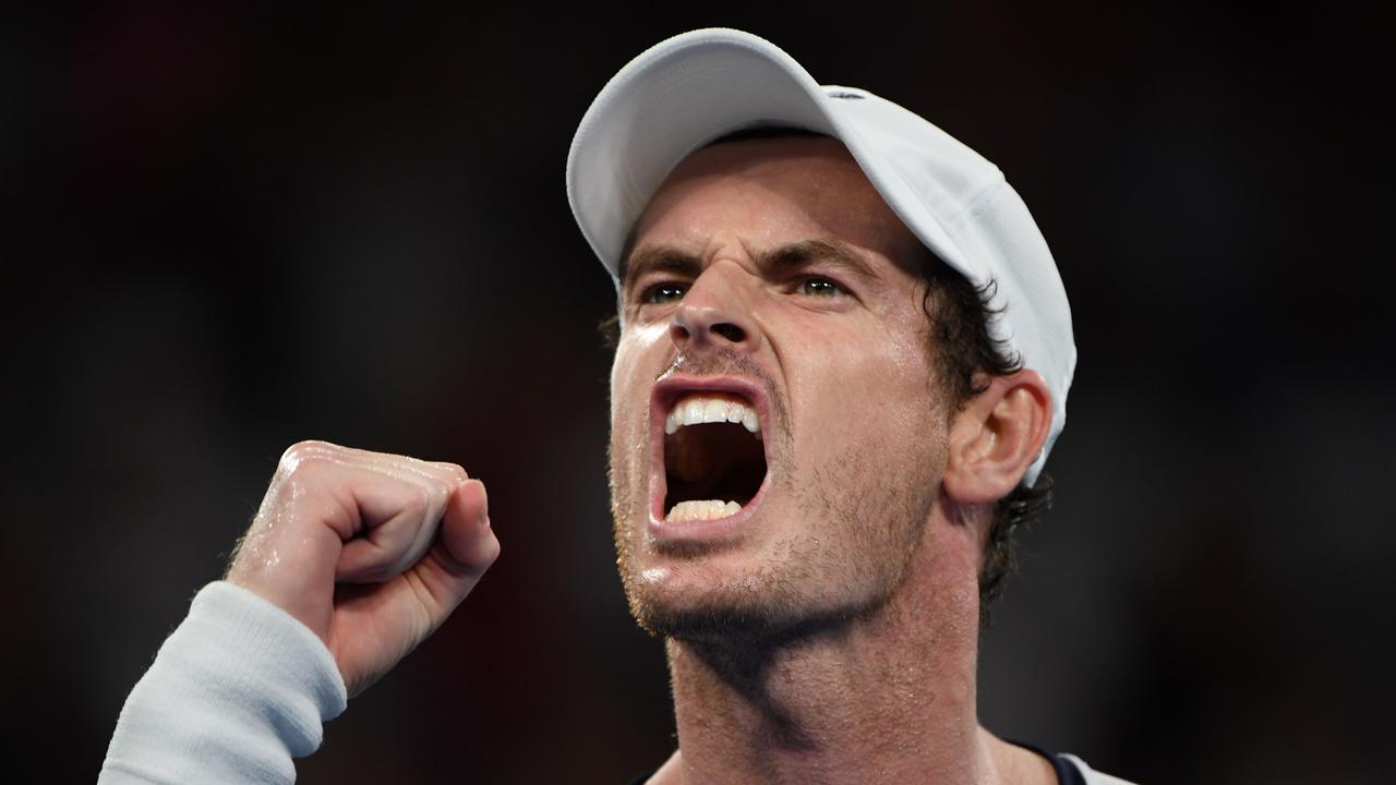 Murray said his childhood was difficult for several reasons. Picture: AFP/SAEED KHAN