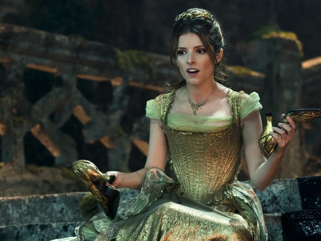 Anna Kendrick as Cinderella in Into The Woods.