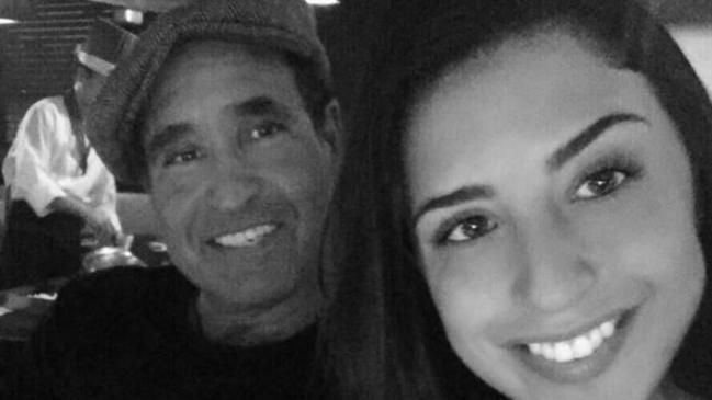 Philip Vetrano and his daughter Karina Vetrano, who was killed while out jogging. Picture: Supplied