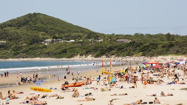 Byron Bay's vaccination rate is notoriously low next to the national average.