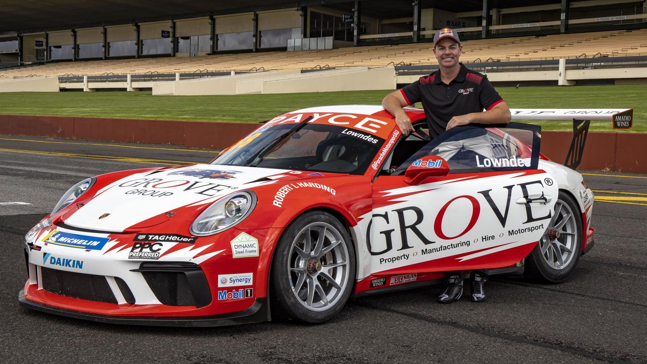 Craig Lowndes with his #888 entry.