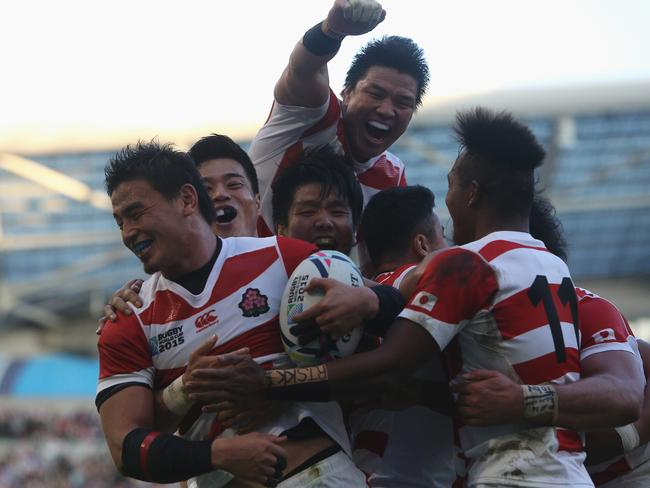 Ayumu Goromaru grabbed the winning try late on.