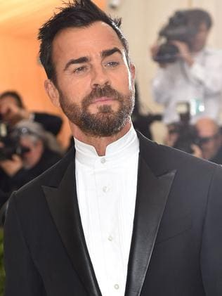 Justin Theroux arrives solo at Met Gala this year. Picture: AFP