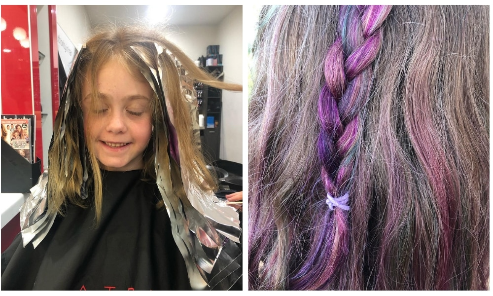 Mermaid Hair Is Here For Your Kids To Try Over The School Holidays
