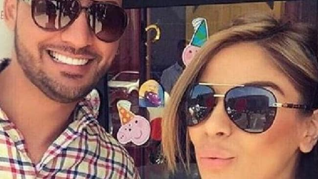 Salim Mehajer with sister Aisha. A Mehajer family spokesman denied suggestions of a falling-out between there Mehajer and Ibrahim families. Picture: Supplied